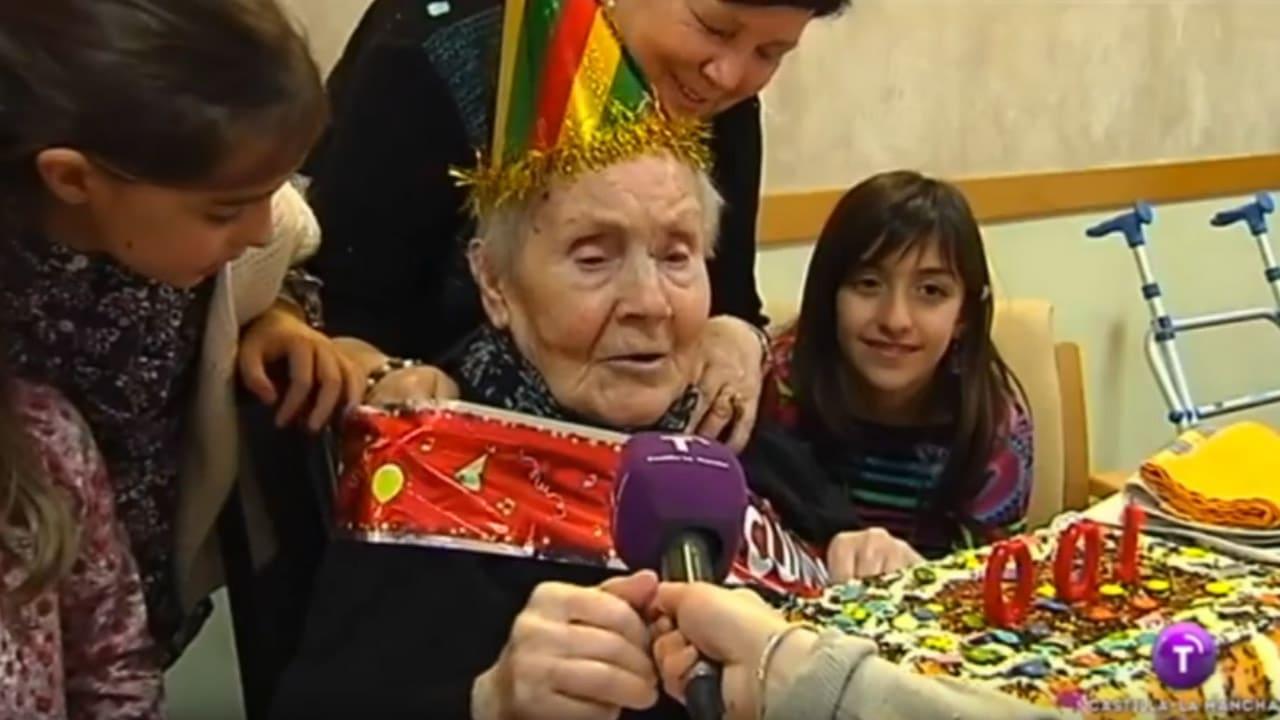 100 cumpleaños en Residencial Cervantes