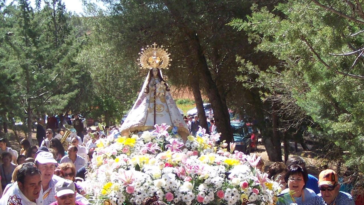 Fiesta de la Virgen de Magaceda en la Residencia