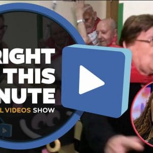 "La Resi en el SHOW norteamericano ""Right this Minute"""
