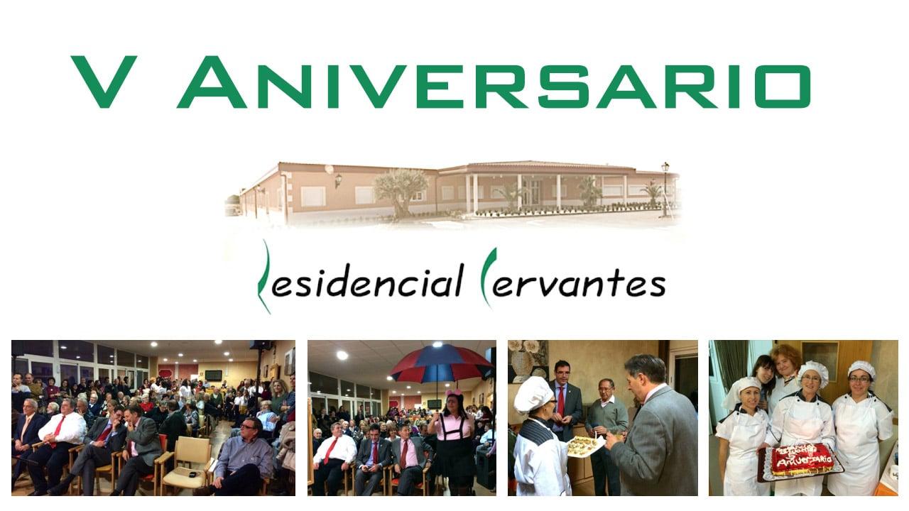 Quinto aniversario de Residencial Cervantes