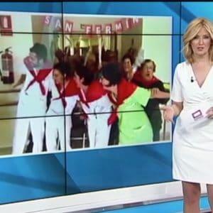 San Fermin en la resi en informativos de Castilla la Mancha