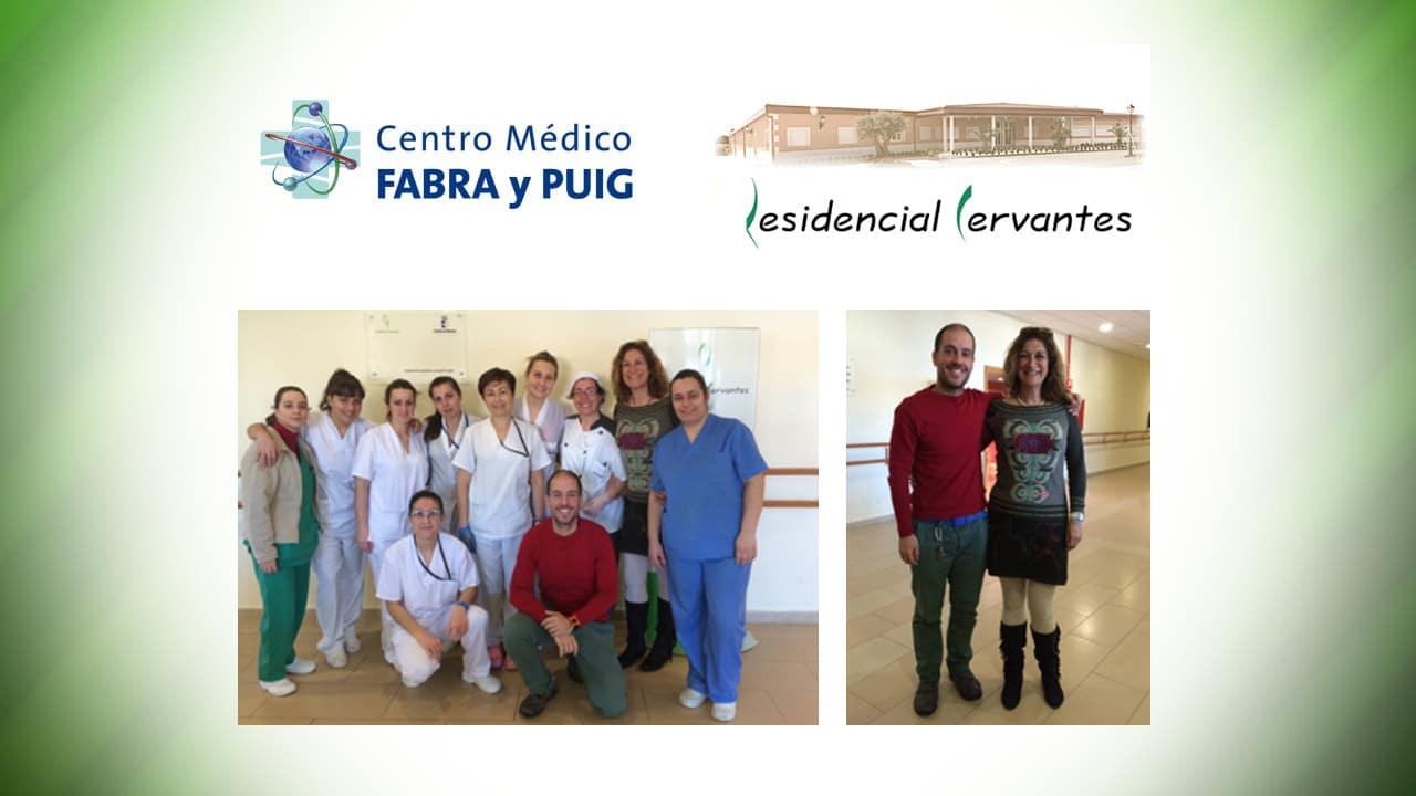 Visita de Dory Martínez del Centro Médico Fabra y Puig